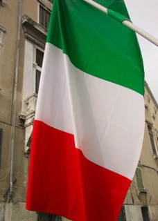 Small italian FLAG