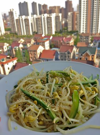 Mung Bean Sprout Side Dish Sukjunamul.