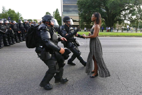 Baton Rouge Protests Photos Shine Light on Fault Lines